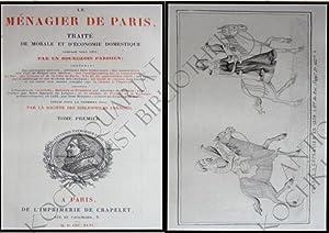 Le Menagier de Paris, traité morale et