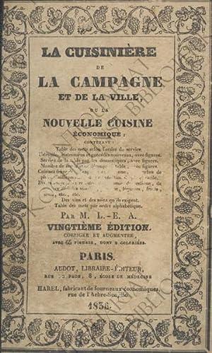 La Cuisinière de la campagne et de: AUDOT, Louis Eustache):