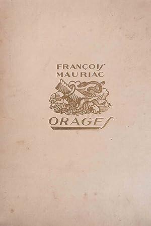Orages -: MAURIAC (François)