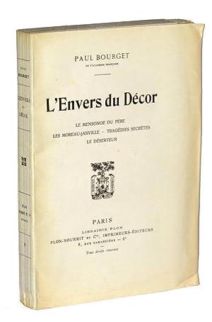 L Envers Du Decor De Bourget Paul Abebooks