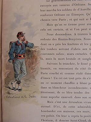 Récits de guerre. Paris assiégé 1870-1871 -: CLARETIE (Jules)