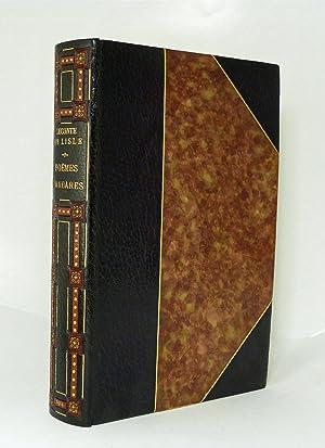 Leconte De Lisle Poemes Barbares Abebooks