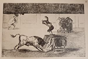 Goya, la tauromaquia. Edicion facsimil -: Goya