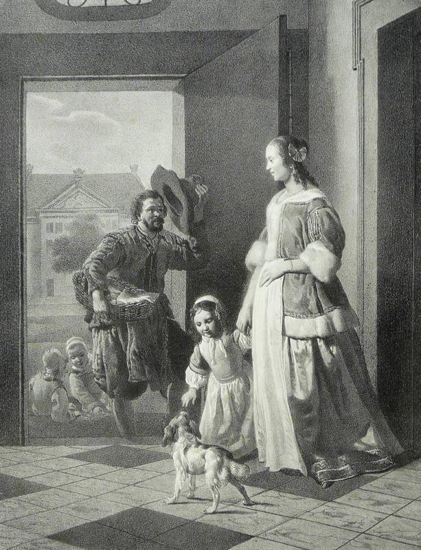 """Grafiker des 19. Jahrhunderts. - """"""""Un Pecheur""""""""."""