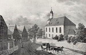 """Boritz. - Hirschstein. - Sachsens Kirchen-Galerie. - """"Boritz""""."""