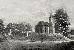 "Gröbern. - Niederau. - Sachsens Kirchen-Galerie. - ""Gröbern""."