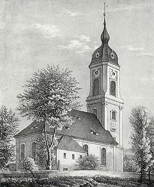 """Sora (Klipphausen). - Dorfkirche. - Sachsens Kirchen-Galerie. - """"Kirche zu Sora""""."""