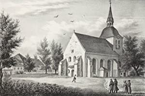 "Burkartshain. - Wurzen. - Sachsens Kirchen-Galerie. - ""Burkartshain""."