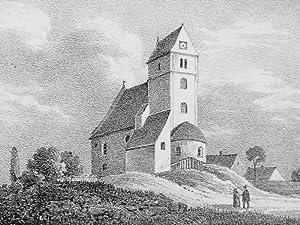 """Grethen. - Grimma. - Sachsens Kirchen-Galerie. - """"Grethen""""."""