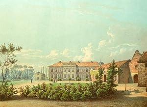 """Herten. - Schloss Westerholt. - Duncker. - """"Westerholt"""".: Alexander Friedrich Wilhelm ..."""