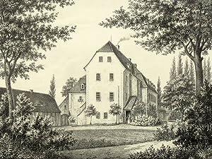 """Berthelsdorf bei Görlitz. - Zinzendorfschloss. - Poenicke. - """"Berthelsdorf"""".: Gustav..."""