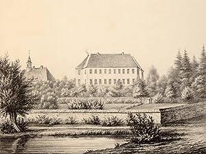 "Elstra bei Bautzen. - Herrenhaus Elstra. - Poenicke. - ""Elstra"".: Gustav Adolph Poenicke"