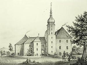 """Großhennersdorf in Herrnhut. - Schloss. - Poenicke. - """"Grosshennersdorf"""".: Gustav ..."""