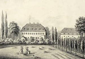 "Merzdorf in Riesa. - Rittergut. - Poenicke. - ""Merzdorf"".: Gustav Adolph Poenicke"