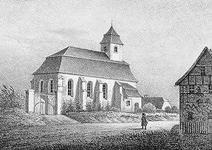 """Zweinaundorf. - Leipzig. - Sachsens Kirchen-Galerie. - """"Zweynaundorf""""."""