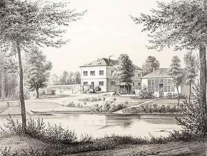 """Ragwitz / Stauchitz. - Rittergut. - Poenicke. - """"Ragewitz"""".: Gustav Adolph Poenicke"""