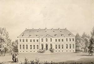 """Reibersdorf bei Zittau & Reichenau (Rybarzowice, Bogatynia). - Schloss. - Poenicke. - """"..."""