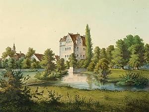 "Niederrödern bei Radeburg. - Schloss. - Poenicke. - ""Nieder=Rödern"".: Gustav ..."