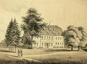 "Kemnitz in Bernstadt a. d. Eigen. - Rittergut. - Poenicke. - ""Ober-Kemnitz"".: Gustav ..."