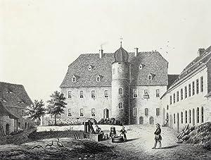 "Syhra bei Geithain. - Schloss. - Poenicke. - ""Syhra"".: Gustav Adolph Poenicke"