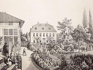 "Ruppersdorf / Herrnhut. - Rittergut. - Poenicke. - ""Ober-Ruppersdorf"".: Gustav ..."