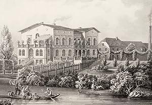 """Möckern. - Rittergut. - Poenicke. - """"Möckern"""".: Gustav Adolph Poenicke"""