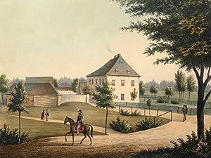 """Werda. - Rittergut. - Poenicke. - """"Werda"""".: Gustav Adolph Poenicke"""