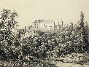 "Wolkenburg. - Schloss. - Poenicke. - ""Wolkenburg"".: Gustav Adolph Poenicke"