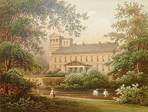 "Schloss Oppin. - Landsberg im Saalekreis. - Duncker. - ""Oppin"".: Alexander Friedrich ..."