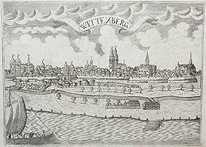"""Wittenberg. - Gesamtansicht. - """"Wittenberg""""."""