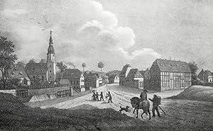 """Mehltheuer (Großpostwitz). - Gesamtansicht. - Sachsens Kirchen-Galerie. - """"Mehltheuer&..."""