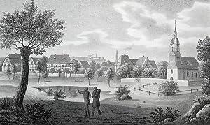 """Limbach (Oschatz). - Teilansicht. - Sachsens Kirchen-Galerie. - """"Limbach""""."""
