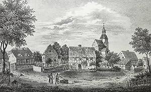 "Schmorkau (Neukirch). - Teilansicht. - Sachsens Kirchen-Galerie. - ""Schmorkau. II.e Ansicht&..."