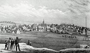 """Brand-Erbisdorf. - Gesamtansicht. - Sachsens Kirchen-Galerie. - """"Brand""""."""