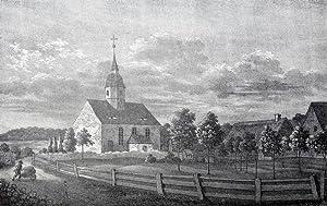 "Dorfhain. - Teilansicht. - Sachsens Kirchen-Galerie. - ""Dorfhain""."
