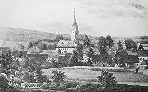 """Großhartmannsdorf. - Gesamtansicht. - Sachsens Kirchen-Galerie. - """"Groß-..."""