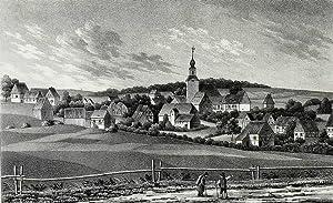 "Gahlenz (Oederan). - Gesamtansicht. - Sachsens Kirchen-Galerie. - ""Gahlenz""."