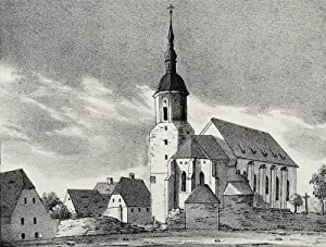 "Dohna. - Stadtkirche. - Sachsens Kirchen-Galerie. - ""Die Stadtkirche zu Dohna""."