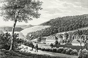 Giesenstein (Bad Gottleuba-Berggießhübel). - Gesamtansicht. - Sachsens Kirchen-Galerie. ...