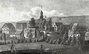 """Kleinhartmannsdorf. - Gesamtansicht. - Sachsens Kirchen-Galerie. - """"Klein-Hartmannsdorf""""."""