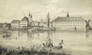 """Blankenhain (Crimmitschau). - Schloss & Wasserburg. - """"Blankenhain""""."""