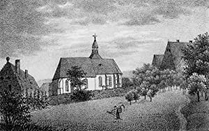 """Ottendorf. - Pfarrkirche. - Sachsens Kirchen-Galerie. - """"Die Kirche zu Ottendorf""""."""