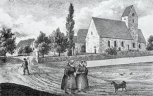 """Bennewitz. - Teilansicht. - Sachsens Kirchen-Galerie. - """"Bennewitz""""."""