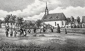 """Bockelwitz (Leisnig). - Teilansicht. - Sachsens Kirchen-Galerie. - """"Bockelwitz""""."""