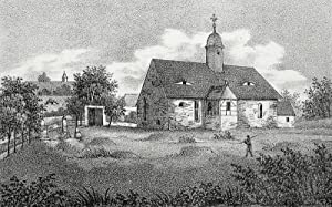 """Börtewitz (Leisnig). - Teilansicht. - Sachsens Kirchen-Galerie. - """"Börtewitz""""."""