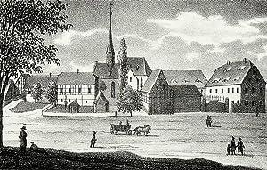 """Bocka. - Gesamtansicht. - Sachsens Kirchen-Galerie. - """"Bocka""""."""