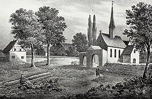 """Beucha (Brandis). - Pfarrkirche. - Sachsens Kirchen-Galerie. - """"Beucha""""."""