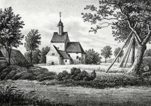 "Nauenhain. - Teilansicht. - Sachsens Kirchen-Galerie. - ""Nauenhain""."