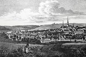 "Roßwein. - Gesamtansicht. - Sachsens Kirchen-Galerie. - ""Rosswein""."