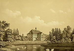 """Griebenow. - Schloss. - """"Griebenow von der Ostseite""""."""